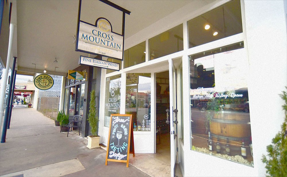 Cross Mountain Store Front
